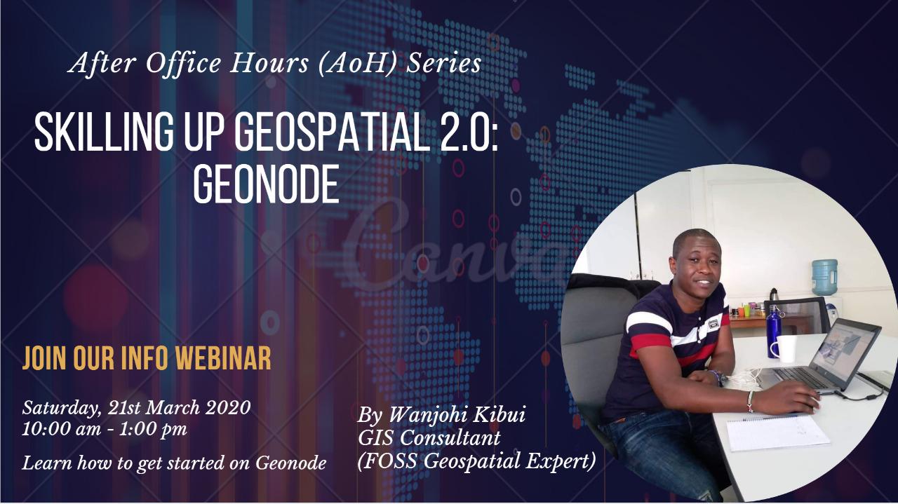 Skilling Up Geospatial 2.0: Geonode